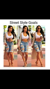 jeans,crop jeans with rips