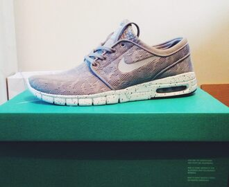 shoes nike nike running shoes nike free run grey and white trainers