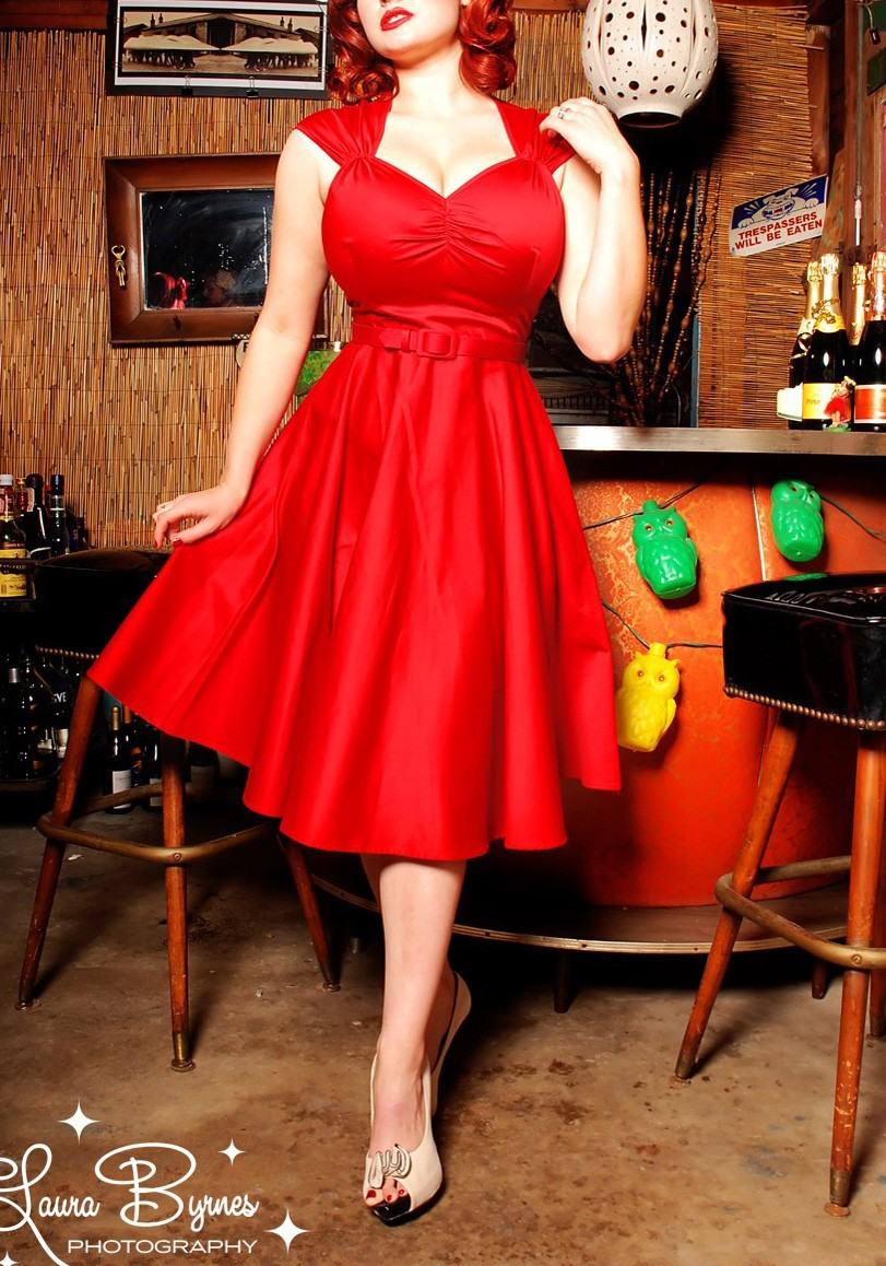The perfect sweet pinup girl dress