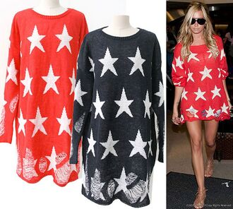 sweater jumper stars ashley tisdale shoes
