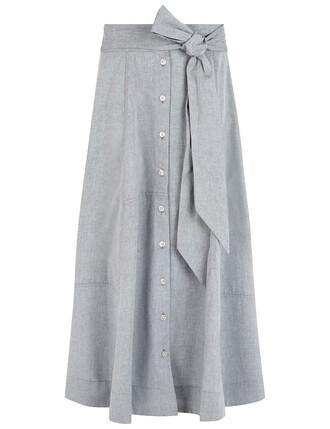 skirt beach skirt patchwork beach grey black