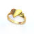 GOLD HEART RING - Rings & Tings | Online fashion store | Shop the latest trends
