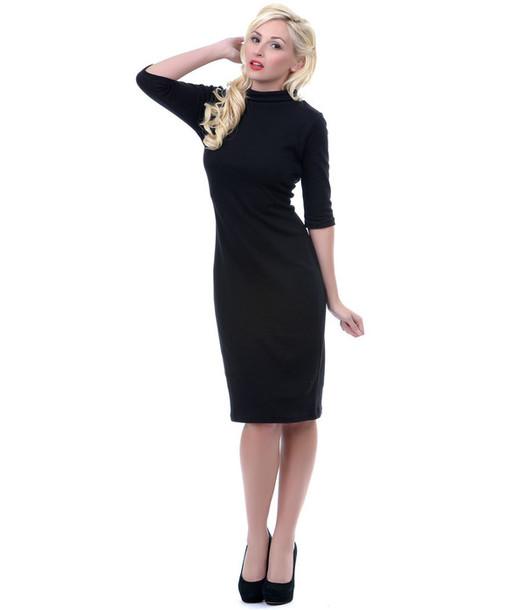 50s Style 50s Dresses Pin Up Pin Up Pin Up Pin Up Black Dress