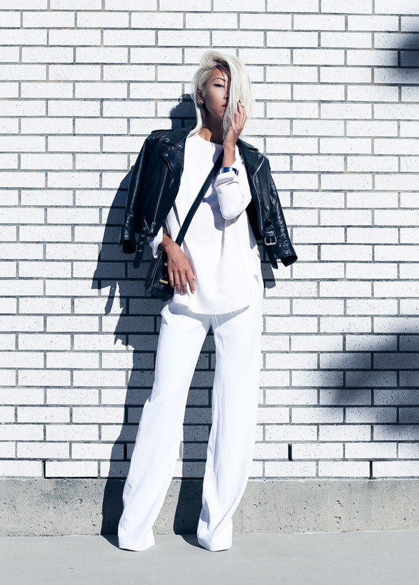 the haute pursuit blogger jewels blouse underwear bag