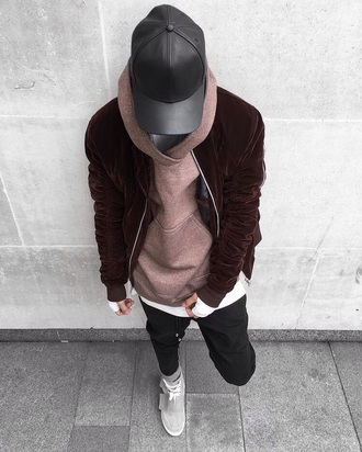 jacket burgundy menswear mens jacket