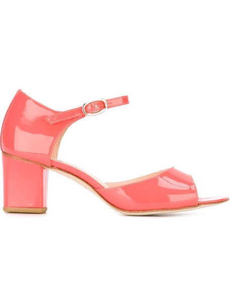Repetto women sandals leather purple pink shoes