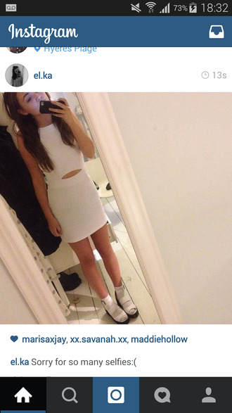 girly grunge adorable skater pure fashiin aw peek-a-boo dress