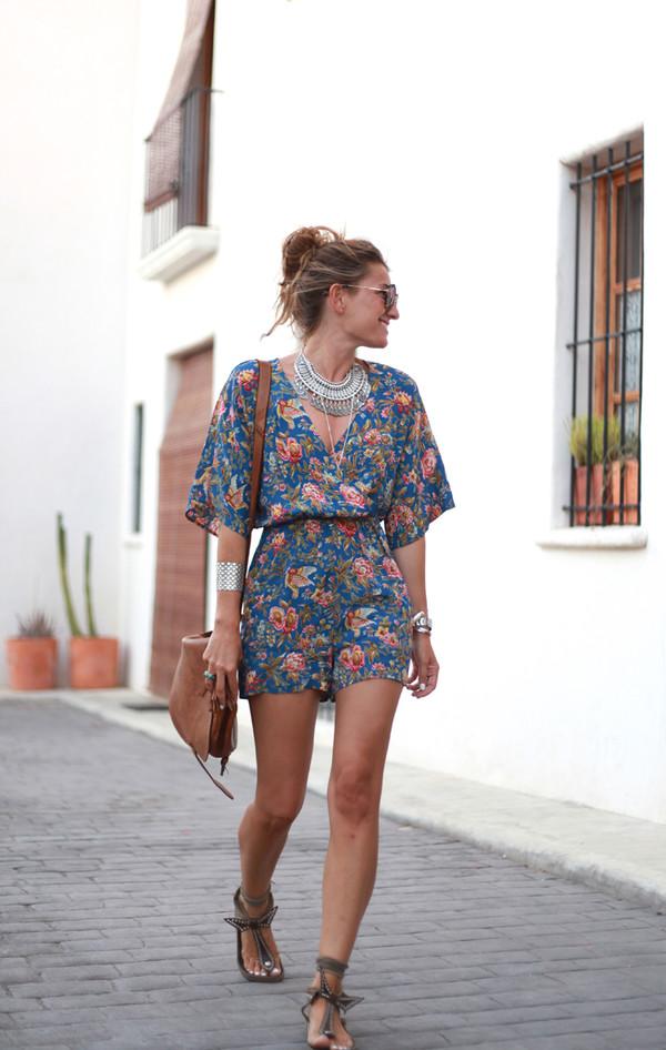 b a r t a b a c blogger jumpsuit shoes bag jewels sunglasses