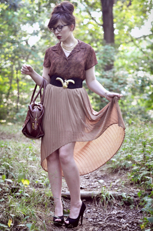 keiko lynn beige skirt asymmetrical skirt