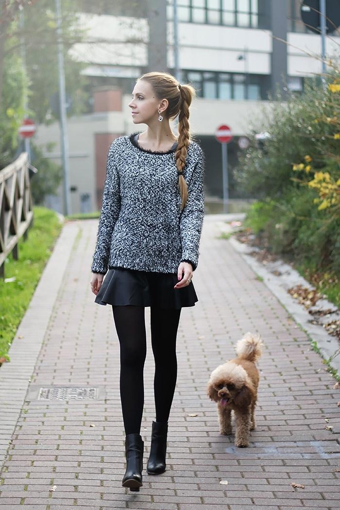 High Street Layered-look Mini Skirt [FMCC0148]- US$15.99 - PersunMall.com