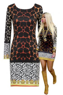 Delicious Dresses - Animal Print Dress (Powered by CubeCart)
