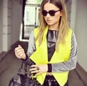 jacket,clothes,fashion,yellow,cute,pretty,chic,trendy