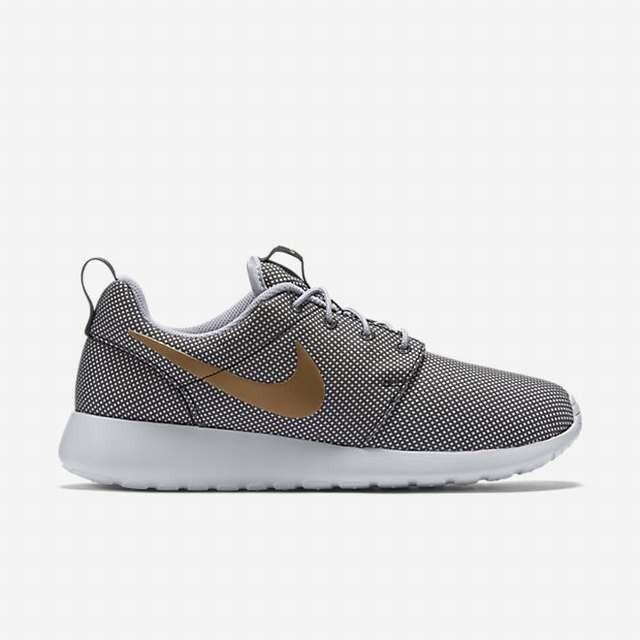 8e66529dcfd2a nike roshe grey and gold . AnthraciteMetallicWolf Grey Womens Nike Roshe One  Casual Shoes 511882 070 ...