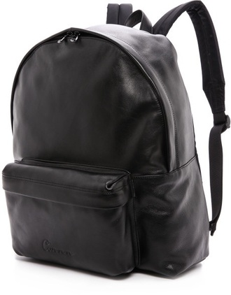 bag school bag backpack leather faux leather cool bags