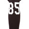 Black 85 print t shirt jersey dress at fashion union