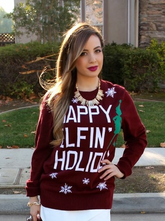 cardigan ariana grande christmas sweater christmas jumper style elf sweater