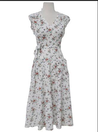 floral dress flower child western