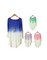 Gradient color knitted sweater