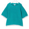 Knot - contrast trim jumper - kids - cotton - 5 yrs, blue