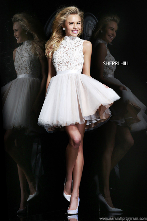 Serendipity Prom -Sherri Hill 21345 prom dress - Sherri Hill 2014 Cocktail - sherrihill21345
