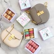 bag,tumblr,grey bag,nude bag,macaroon,macaron,chloe bag,chloe