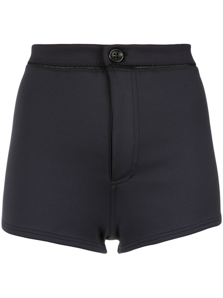 AMIR SLAMA shorts High waisted shorts high waisted high women black