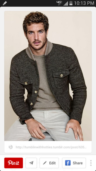 taupe jacket gray taupe collar