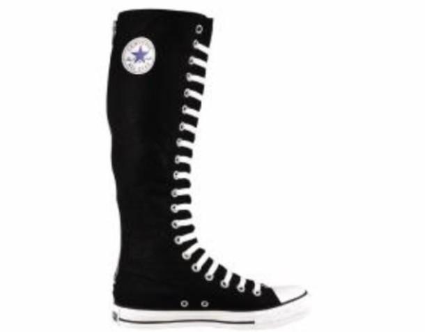 shoes converse knees high converse
