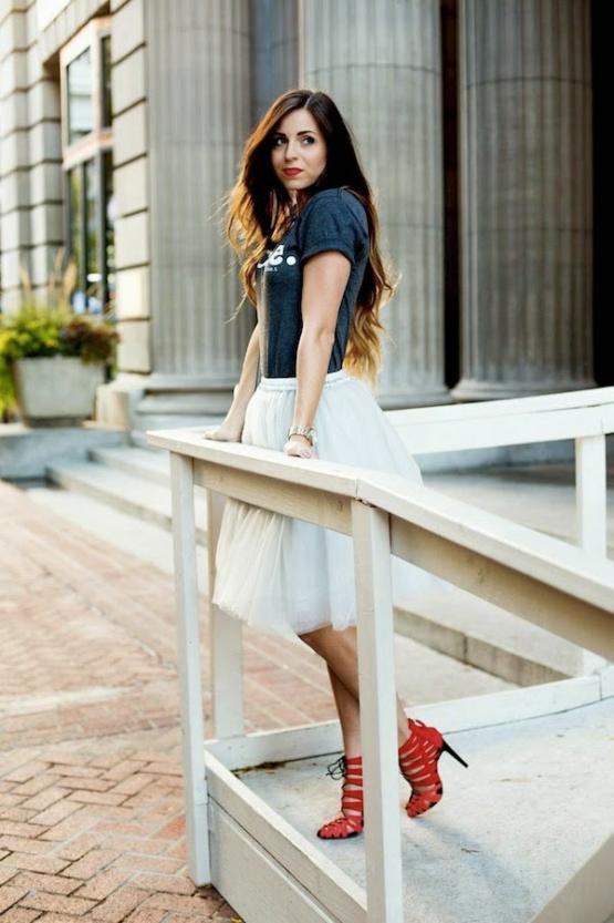 0e62b80ddc Casual Boho Tulle Skirt | SPREDFASHION
