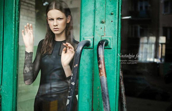 model editorial dress lbd
