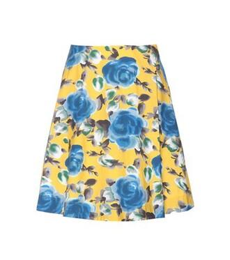 skirt rose cotton