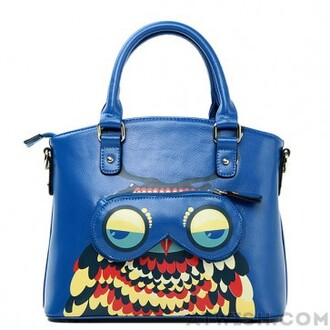 bag handbag owl shoulder-bag