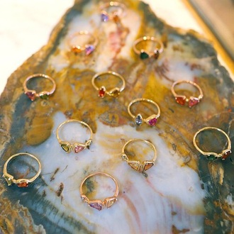 jewels rings and tings accessories quartz