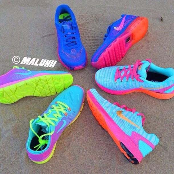 sneakers, runners., nike, shoes