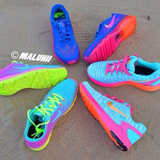 Bright Colored Mens Nike Shoes