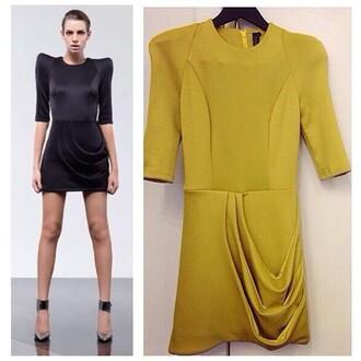 dress zhivago party dress stunning dress perth boutique black dress yellow dress mini dress highfashion high-low dresses