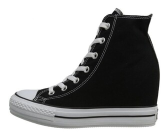 shoes converse platform shoes wedge sneakers