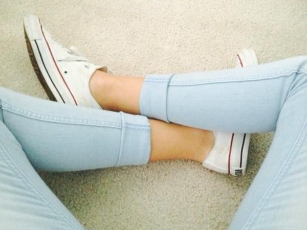 jeans converse pastel color