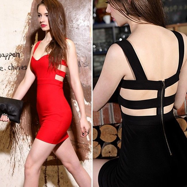 Aliexpress.com : Buy 2014 Hot Sexy Tight Women Red Rose Mini Dress Strap Hollow Clubwear Party Evening Club Dress Free Shipping from Reliable dresses inexpensive suppliers on Shenzhen Gache Trading Limited