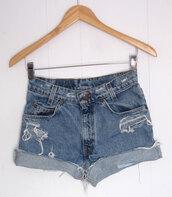 shorts,High waisted shorts,cut off shorts,90s style