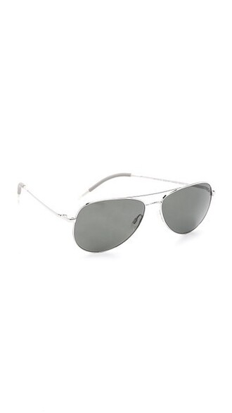 sunglasses aviator sunglasses silver