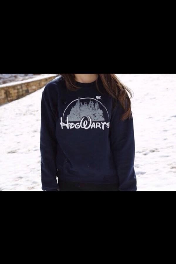sweater hogwards disney