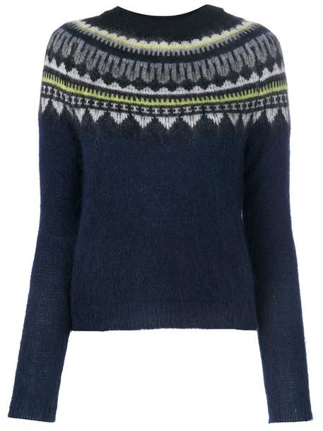 Markus Lupfer sweater women mohair wool