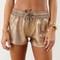Sabo skirt  bronze earth shorts - gold - 42.0000