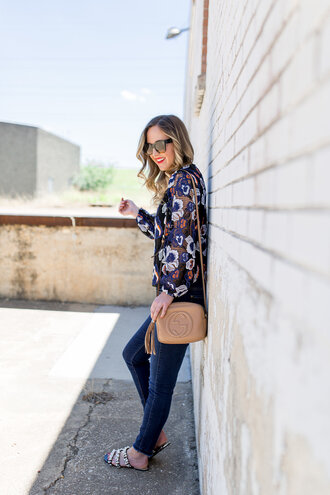 miami + dallas based lifestyle and fashion blog blogger blouse shoes bag sunglasses jewels