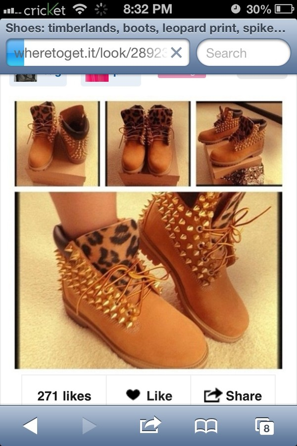 shoes leopard print boots timberlands winter outfits cute