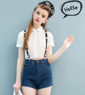 shirt fashion white 651823 294305 england streetstyle belt