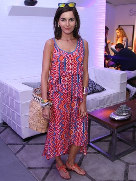 Tolani ivette dress in fire as seen on camilla belle