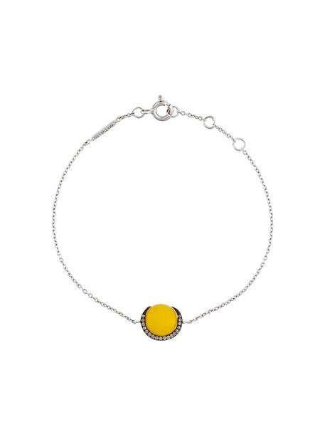Christina Debs women gold white yellow orange jewels