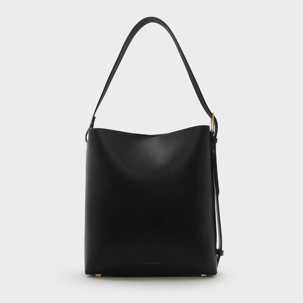 basic bag shoulder bag black